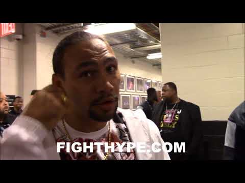 KEITH THURMAN REACTS TO JERMELL CHARLO'S KNOCKOUT OF ERICKSON LUBIN; CREDITS SPENCE SPARRING