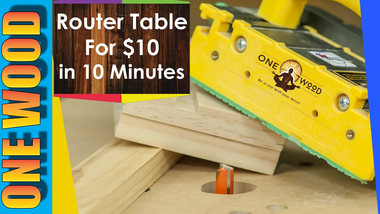 How to build a router table for woodworking for under 10 how to build a router table for woodworking for under 10 woodworking video for beginners youtube greentooth Image collections