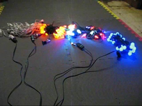 4 channel chase controller for christmas lights youtube