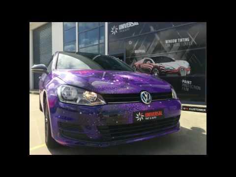 VW Golf full printed wrap
