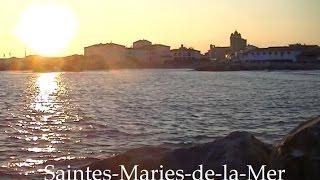 Saintes-Maries-de-la-Mer Ambiance zen, couché de soleil