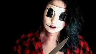 DOLLFACE MASK TUTORIAL/THE STRANGERS/ MakeUpEnPointe Tutorial