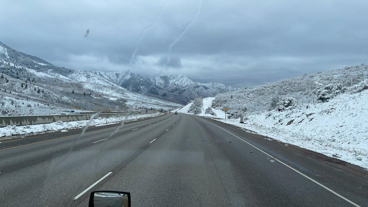 Snow hari pertama 80 west utah