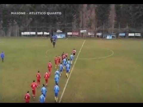 Calcio 2^ Categoria - Masone Atletico Quarto - 24 marzo 2018