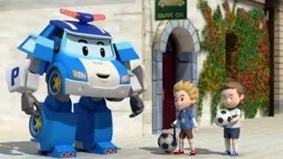 Робокар Поли - Правила дорожного движения - Как играть в мяч