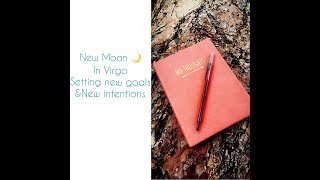 New Moon in Virgo 🌙 | Plan, Structure & Organization