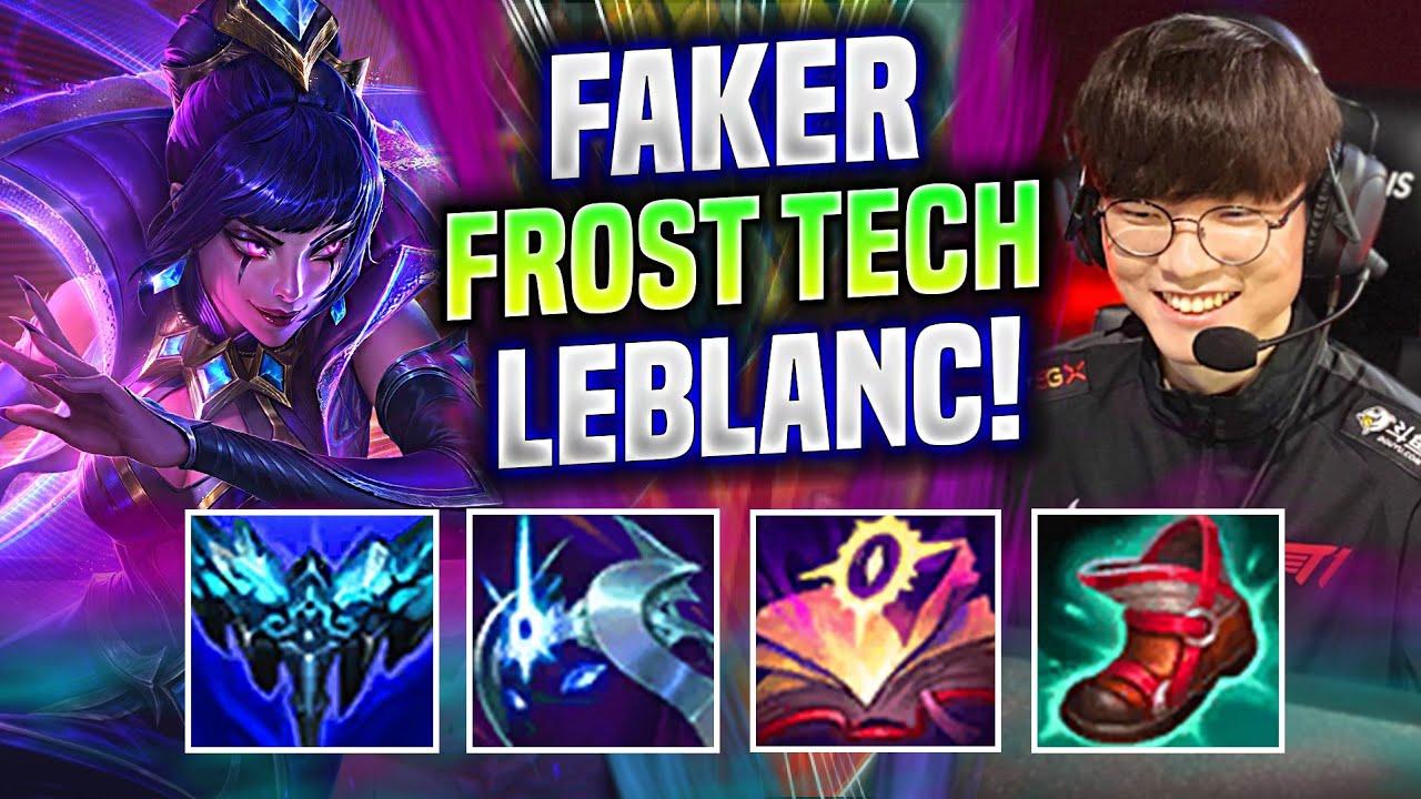 FAKER FROST LEBLANC BUILD IS INSANE! - T1 Faker Plays Leblanc Mid vs Kassadin! | EUW Worlds Bootcamp