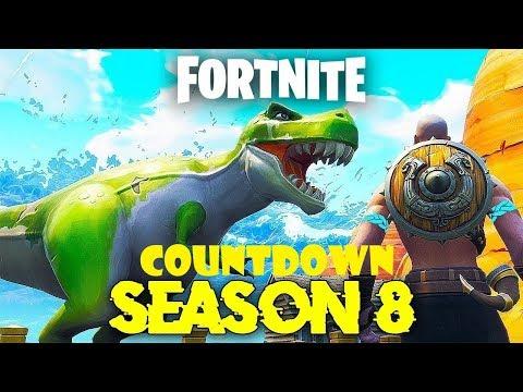 official fortnite season 8 countdown 5x battle pas giveaway - fortnite update countdown season 8