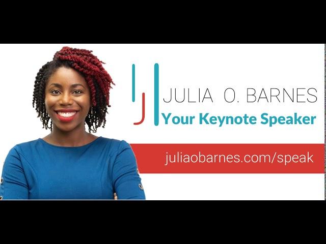 Julia O Barnes - Your Keynote Speaker | Boss Teacher