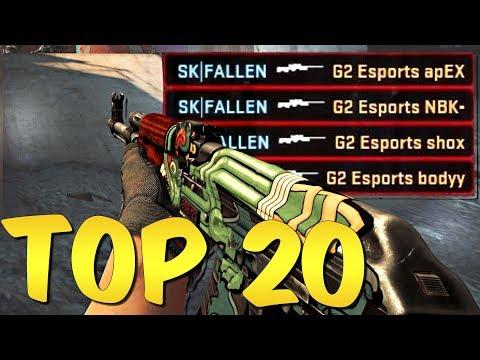 BEST PRO MOMENTS! Top 20 CS:GO Pro Plays #9 thumbnail