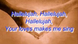 Brenton Brown- Hallelujah (Your Love is Amazing) (lyrics)