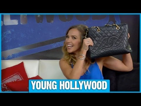 Arielle Kebbel Mixes Budget and Designer Fashions