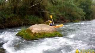 Canoa-raft y kayak en el Mijares con Ayahuasca Aventuras  [HD]