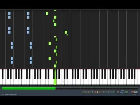 Discombobulate from Sherlock Holmes, arrangement for piano
