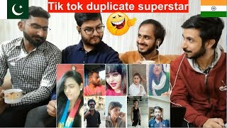 Pakistani Reaction On Tik tok duplicate superstar | tik tok duplicate actor | PAK Review's