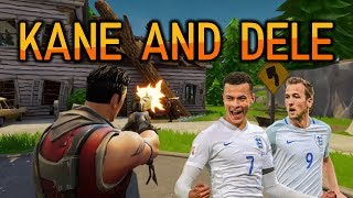 Harry Kane and Dele Alli playing Squads! - Fortnite Battle Royale Gameplay