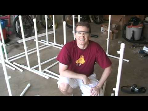 DIY Dog Agility Jump - Assembly