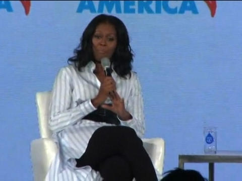 Michelle Obama Slams Trump School Lunch Delay