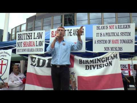 KEVIN CARROLL EDL SPEECH BIRMINGHAM DEMO 2013