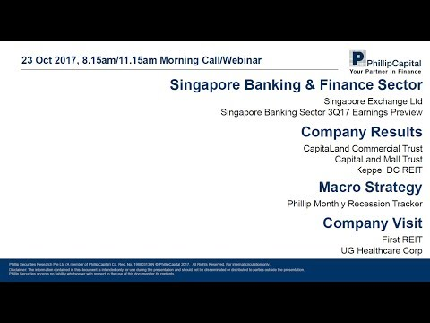 Market Outlook – Singapore Banking Sector and Company Updates