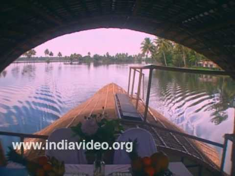Floating luxury on the backwaters