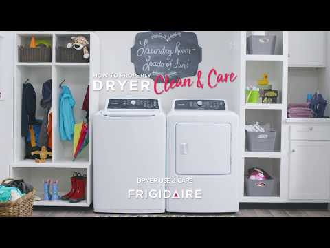 How to Properly Clean & Care for Your Dryer