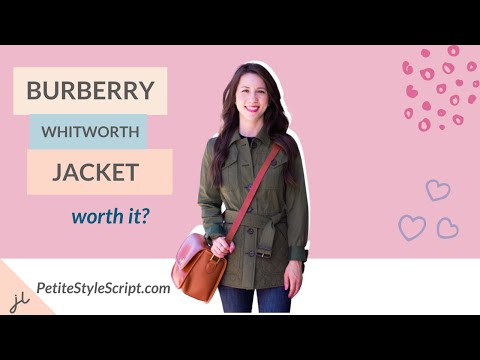 759ce25c48cd Burberry Whitworth Jacket Review - YouTube