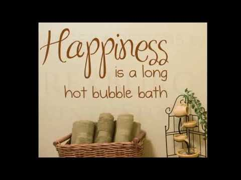 Bathroom Wall Decals - Modern Bathroom Wall Decals | Home Interior Wall Decor & Design