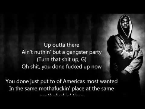 2Pac & Snoop Dogg - 2 Of Amerikaz Most Wanted with lyrics