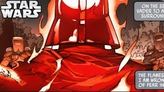 TARKIN SETS VADER ON FIRE and we learn THIS (CANON) - Star Wars Comics Explained