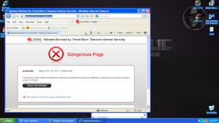 Trend Micro Titanium Internet Security 2014 (Modified settings) - Test with more links