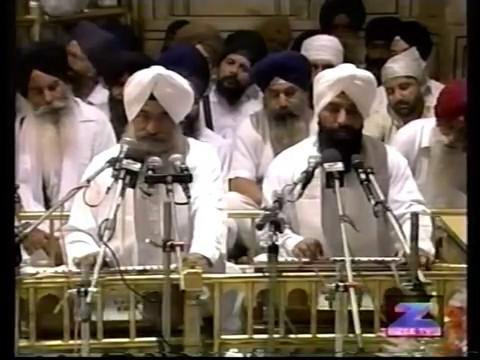Prof. Darshan Singh ji in  Sachkhand Sri Harmandir Sahib, Amritsar,