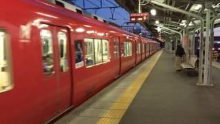 クリスマスなのに...名鉄国府〜小田渕駅間人身事故の影響による豊橋方面の行き先変更電車2本