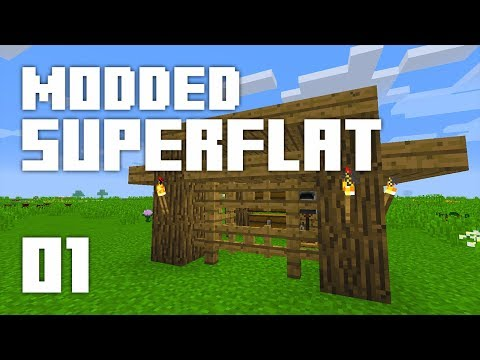 ►Modded Superflat - DEV-N-PLAY! | Ep. 1 | Modded Minecraft Survival◄
