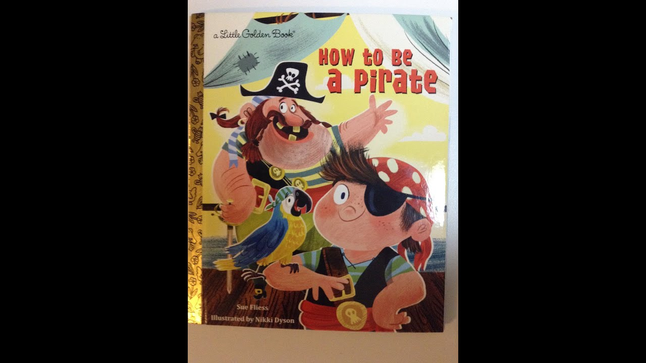 how to be a pirate children u0027s book story youtube