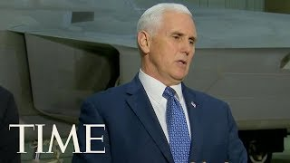 Mike Pence Says He's Open To The Possibility Of Meeting North Korean Officials At Olympics | TIME