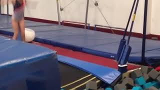 Chanelle standifer final gymnastics evolution (age 2-8)