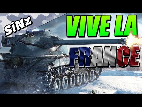 VIVE LA FRANCE! (BatChat Ace Tanker) - World Of Tanks Console | Bat.-Châtillon 25t Gameplay