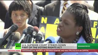 Supreme Court Strikes Down Part of Voting Rights Act