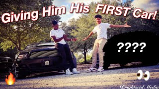 Surprising My Little Brother With His First Car! (PRICELESS REACTION)