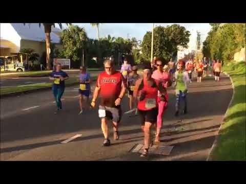 Half Marathon & Marathon Start, January 14 2018