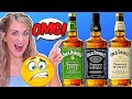 Irish Girl Taste Tests American Jack Daniels Whiskey For The First Time