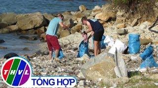 THVL | Nhiều bạn trẻ người nước ngoài đến Nha Trang dọn rác