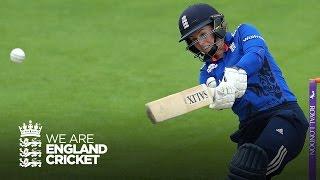 England women score record breaking total - Highlights England v Pakistan