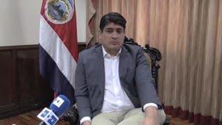 Presidente de Costa Rica se opone a la vía militar en crisis de Nicaragua y Venezuela