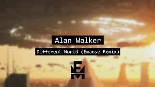 Alan Walker - Different World (Emanse Remix)