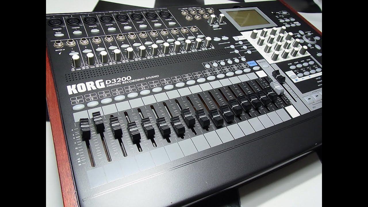 table de mixage enregistreur