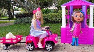 Download Настя и домики для кукол Mp3 and Videos