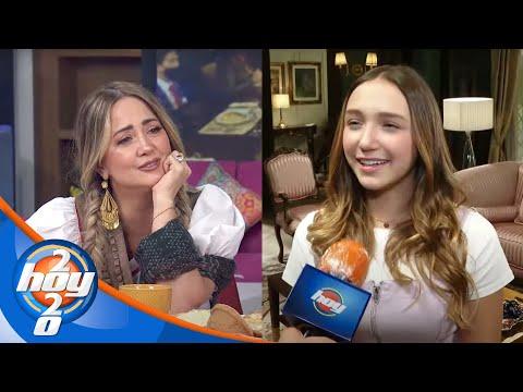 Nina Rubín agradece el apoyo incondicional de su mamá, Andrea Legarreta   Hoy