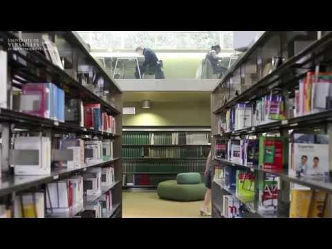 Bibliothèque universitaire UVSQ - campus de Versailles